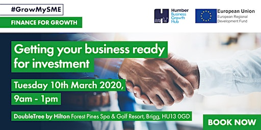 Workshop 3 - Getting your business ready for investment?