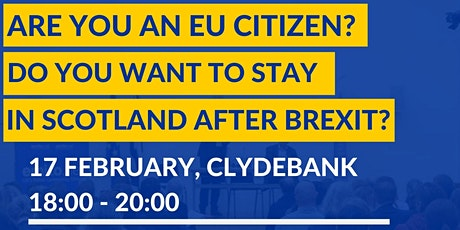 Information session on EU Settlement Scheme in Clydebank tickets