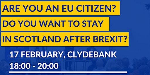 Information session on EU Settlement Scheme in Clydebank