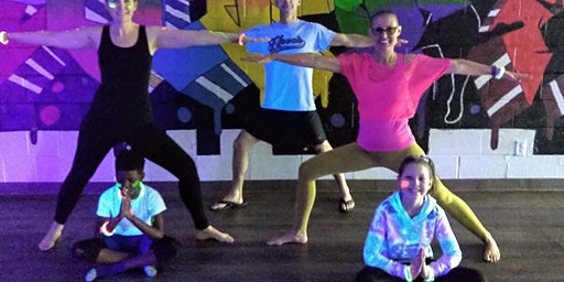 Glow-in-the-Dark Yoga for Kids and Their Grown-Ups (Atlanta area)