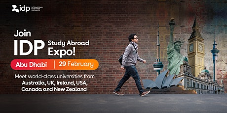 Attend IDP Study Abroad Expo in Abu Dhabi! tickets