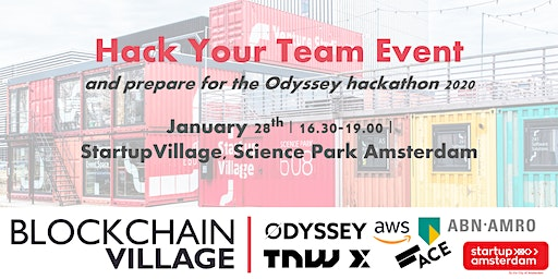 Hack Your Team Event - Getting ready for Odyssey 2020