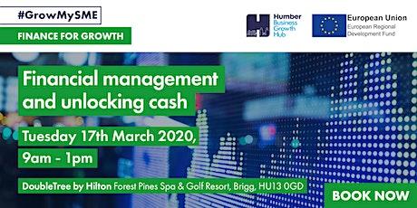 Workshop 4 - Financial management and unlocking cash tickets