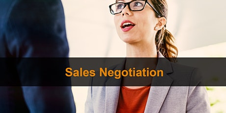 Sales Training London: Sales Negotiation tickets