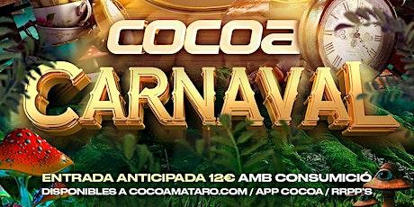Carnaval COCOA entradas