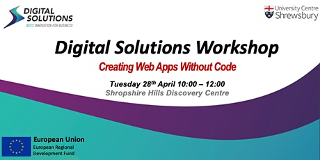 [Postponed] Digital Solutions Workshop - Creating Web Apps Without Code. tickets
