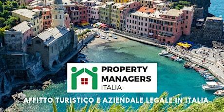 Property Managers 2020: novità in materia normativa, opportunità e sviluppi tickets
