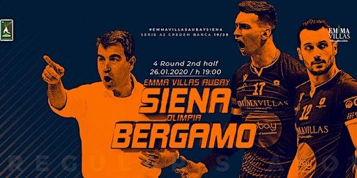 Emma Villas Aubay Siena vs Olimpia Bergamo (15° Campionato di Serie A2)