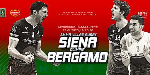 Emma Villas Aubay Siena vs Olimpia Bergamo (Semifinale Coppa Italia)