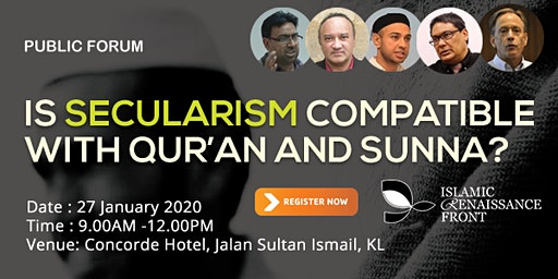 Is Secularism Compatible with Qur'an and Sunna?