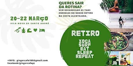 Retiro Yoga & Surf bilhetes