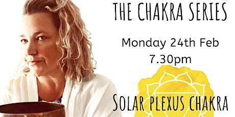 Monday Night Guided Sound Healing Meditation - Chakra Series - Solar Plexus tickets