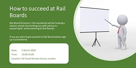 How to Succeed at Rail Boards tickets