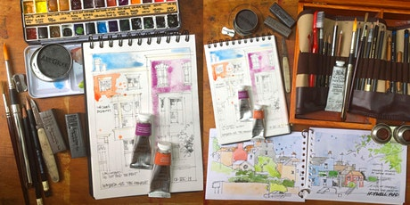 Urban Sketching Architectural Watercolour tickets