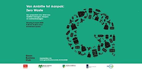 Van Ambitie tot Aanpak: Zero Waste tickets