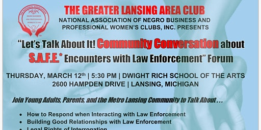 S.A.F.E Encounters w/Law Enforcement  Forum