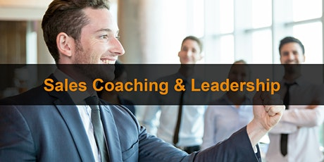 Sales Training London: Sales Coaching & Leadership tickets