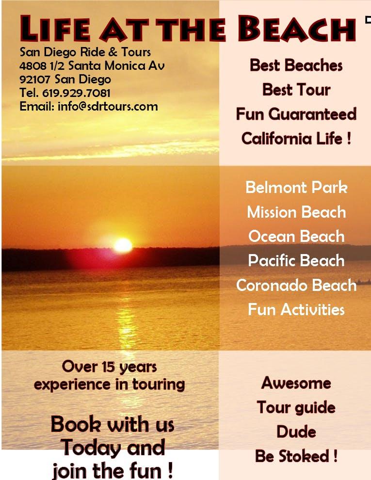 "San Diego ""Life at the Beach"" Tour"