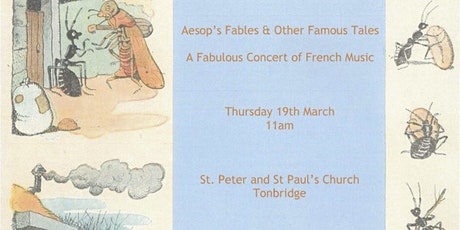 Aesop's Fables and Other Famous Tales: A Fabulous Concert of French Music tickets