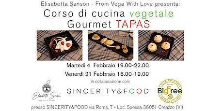 Corso di Cucina Vegetale: Gourmet TAPAS biglietti