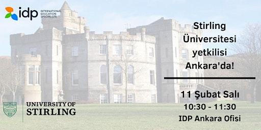 Birleşik Krallık - Stirling Üniversitesi ile Ankara'da buluşma