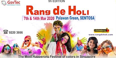 Rang De Holi 2020 tickets