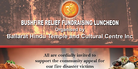 Bushfire Relief Fundraising Luncheon tickets