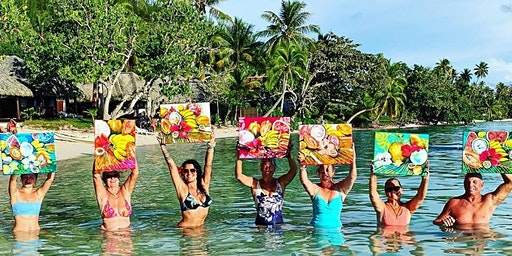 Painting in Paradise Tahiti & Bora Bora (BRISBANE DEPARTURE)