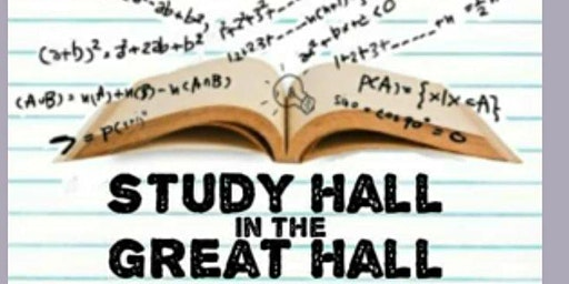 Study Hall in the Great Hall