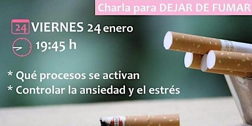 charla para dejar de fumar