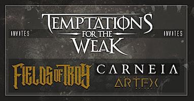 Temptations for the Weak club-tour at De Verlichte Geest