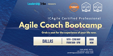 Agile Coach Bootcamp (ICP-ATF & ICP-ACC) | Dallas - May 2020 tickets