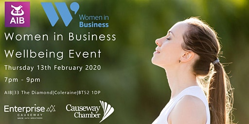 Women in Business - Wellbeing Event