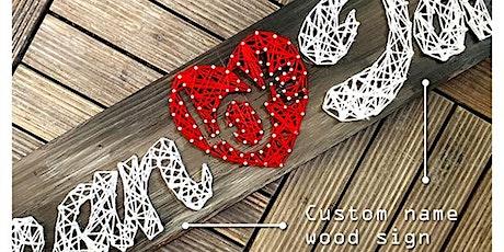 Valentine's Nail & String Art Couples Workshop tickets