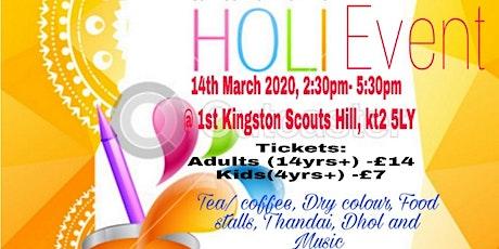 Holi 2020 @ Kingston/Teddington tickets