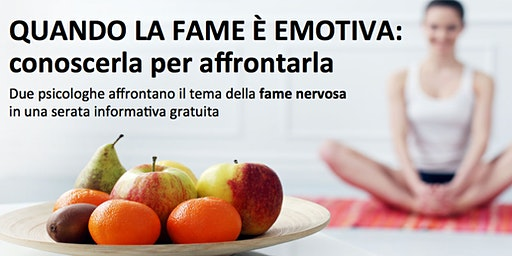 Fame nervosa: conoscerla per affrontarla
