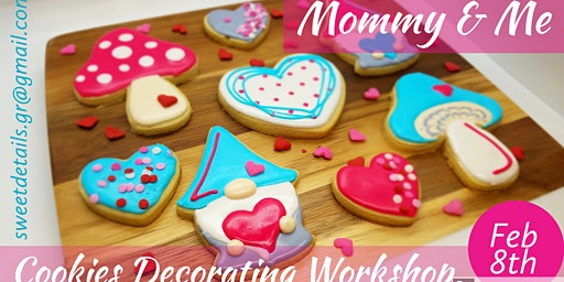 Mommy & Me Valentine's Cookies