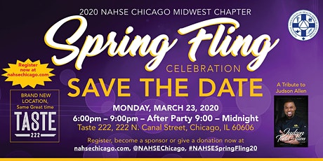 2020 NAHSE Chicago Annual Spring Fling Celebration tickets