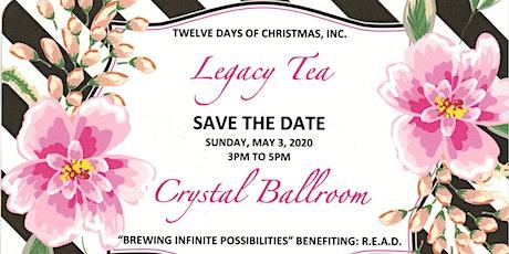 Legacy Tea tickets