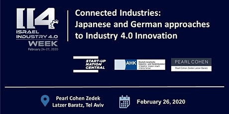 Connected Industries: Japanese and German approaches to Industry 4.0 tickets