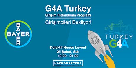 Bayer G4A Turkey: Sağlık ve Tarım Girişimcileri Buluşması 4 tickets
