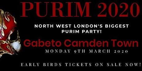 PURIM 2020 - GABETO CAMDEN TOWN tickets