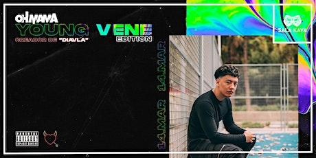 Concierto de Young Vene - Sala Kaya (Madrid) entradas