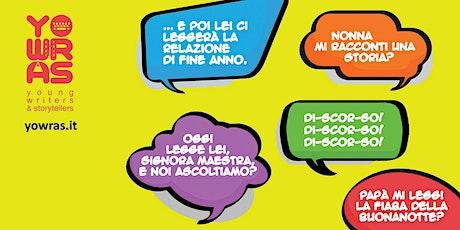Corso di lettura ad alta voce Pinerolo - prima lezione biglietti