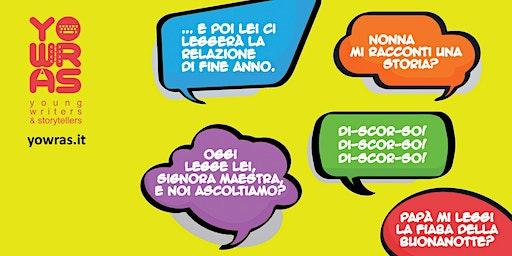 Corso di lettura ad alta voce Pinerolo - prima lezione