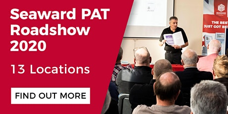 Seaward PAT Roadshow 2020 - Crawley tickets