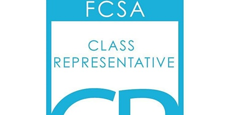 FCSA Class Rep Training February 2020 Glenrothes tickets