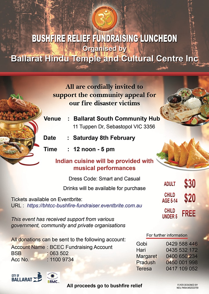 Bushfire Relief Fundraising Luncheon image