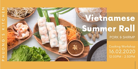 Vietnamese Cooking Workshop | Summer Roll tickets