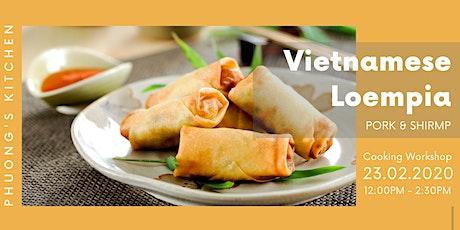 Vietnamese Cooking Workshop | Loempia tickets